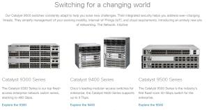 Catalyst 9k line from Cisco.com