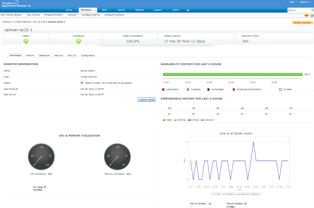 Application Management Software from ManageEngine