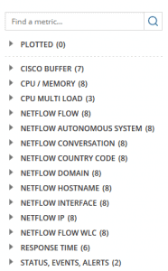 Netflow elements from NTA