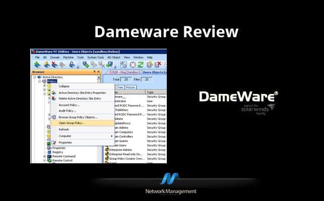 Dameware Review