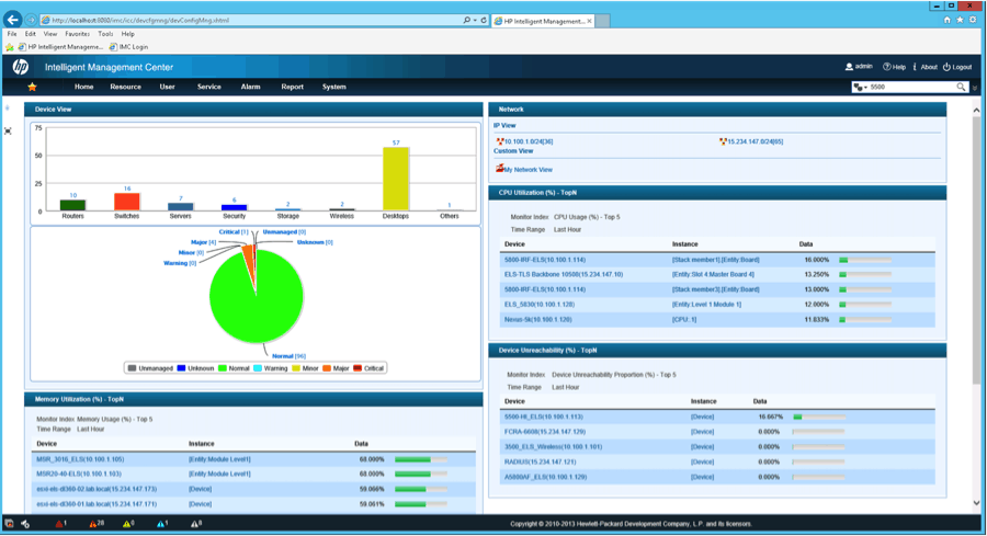 Review: HP Intelligent Management Center (IMC) - Network Management