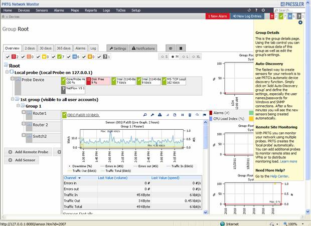 Paessler PRTG 8 Network Monitor Review