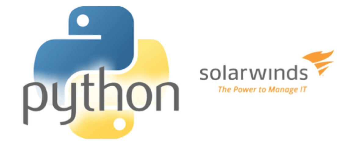 SolarWinds Orion API SDK – Scripting with Python